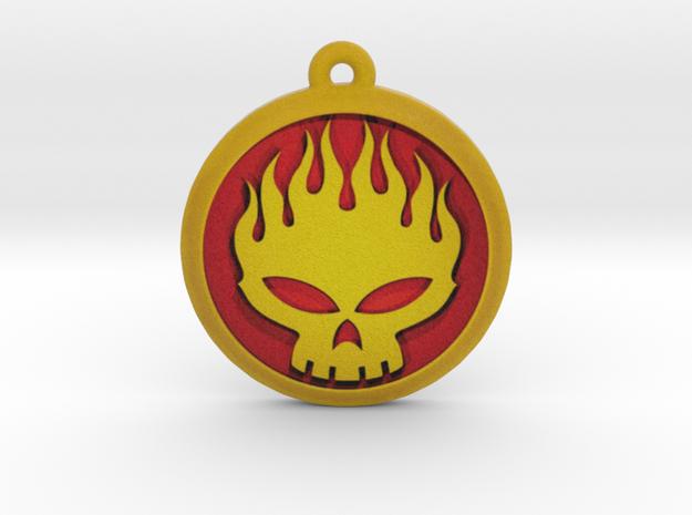 The Offspring Logo Pendant / Ornament in Full Color Sandstone