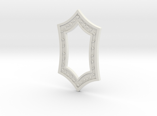 Melisandre's Medallion in White Strong & Flexible