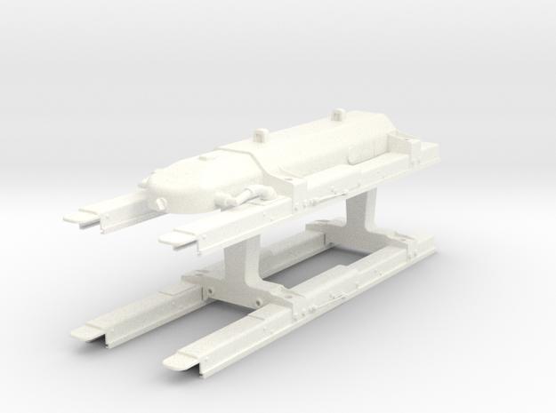 1.8 POD MISSILES HELLFIRE LITE in White Processed Versatile Plastic