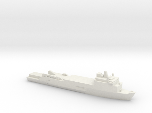 Foudre-Class LPD, 1/1800 in White Natural Versatile Plastic