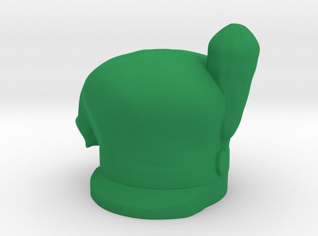 Gordon Scots hat in Green Processed Versatile Plastic