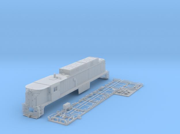 TTE3303 TT scale E33 loco - Conrail 4610 3d printed