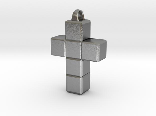 Kreuz in Raw Silver