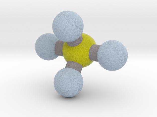Sulfur Tetrafluoride (SF4) in Full Color Sandstone