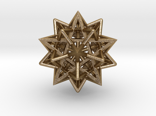 "Super Star 1.4"" in Polished Gold Steel"
