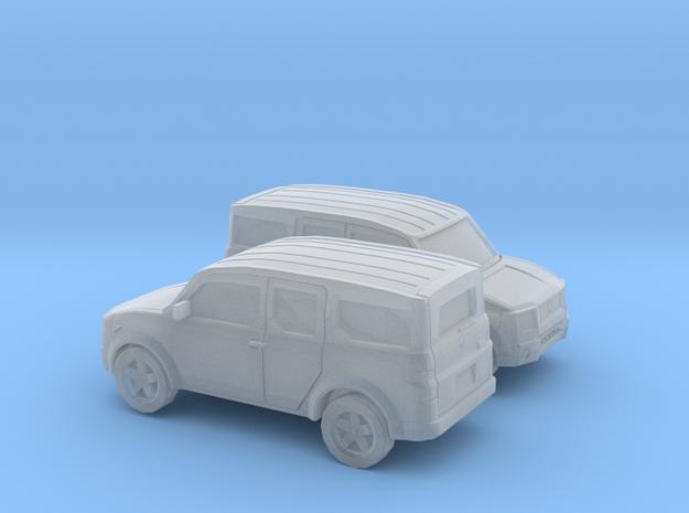 1/148  2002-07 Honda Element in Smooth Fine Detail Plastic