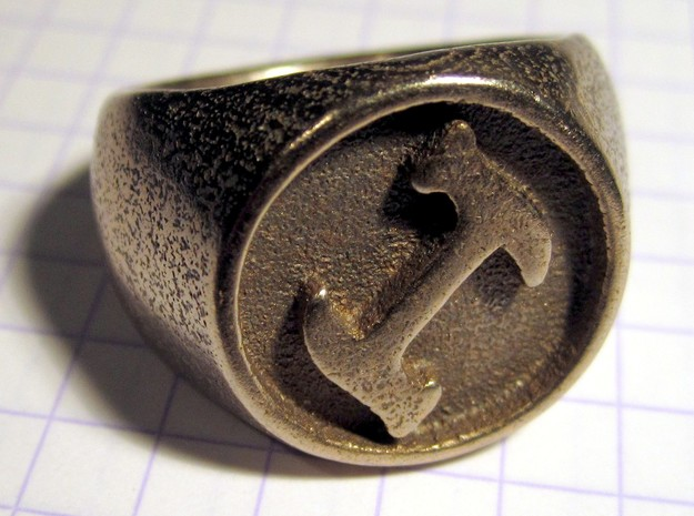 Stonecutter Ring 3d printed