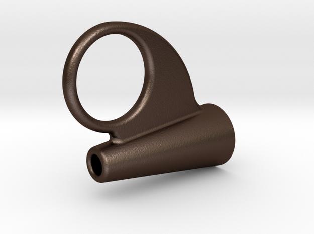 MK Chestbox Hook lock in Matte Bronze Steel