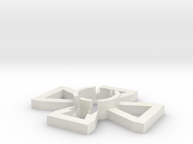 HotAC Targeting Arcs in White Natural Versatile Plastic