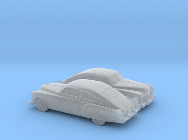 1/160 2X 1949-52 Cadillac Series 62 Fastback in Smooth Fine Detail Plastic