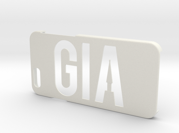 Giaiphone6 in White Natural Versatile Plastic