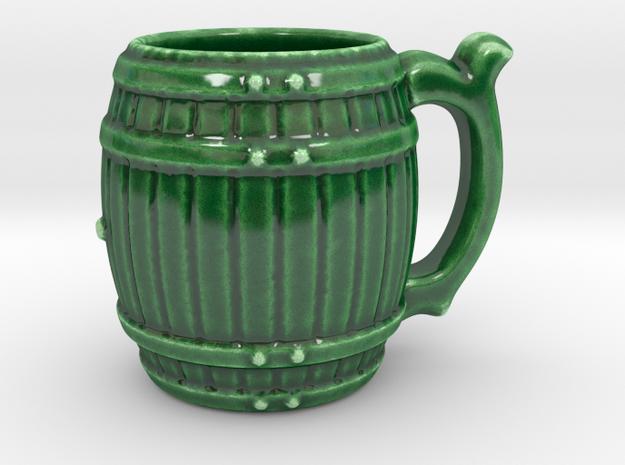 Porcelain Barrel Cup
