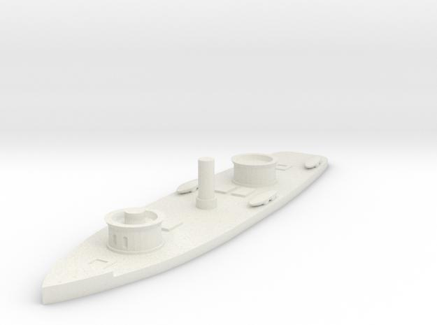 1/600 USS Onondaga  in White Natural Versatile Plastic