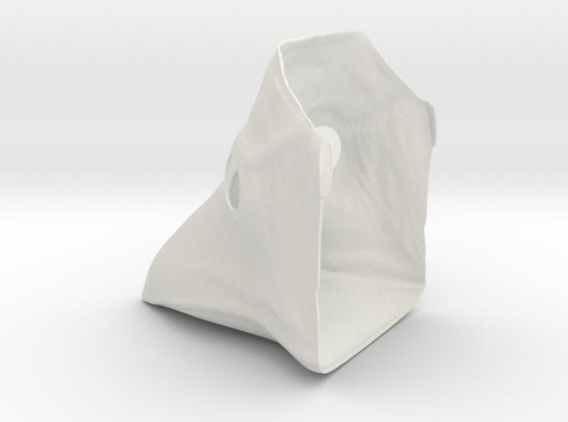 Plauge Mask Thinner - Female in White Natural Versatile Plastic