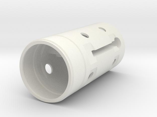Nacelle Core V2.stl in White Strong & Flexible
