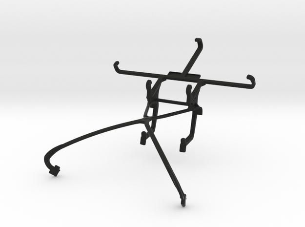 NVIDIA SHIELD 2014 controller & Lava X46 - Front R in Black Natural Versatile Plastic