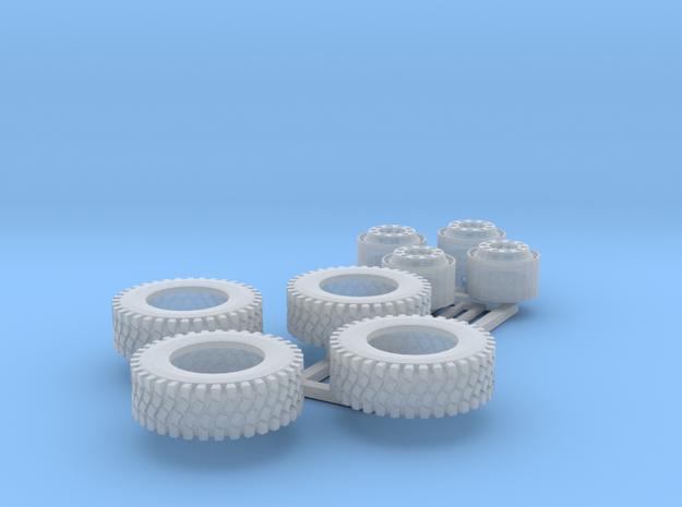 1/87 Reifen für GW Rüst1 3d printed