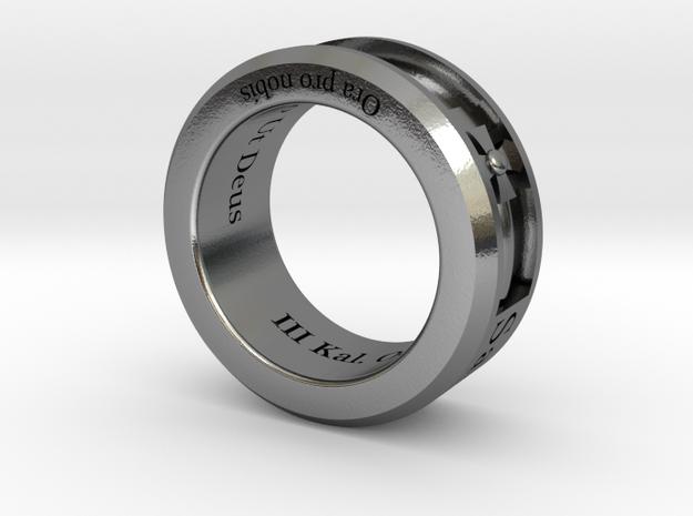 Saint Michael Ring Size 9