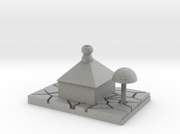 Casa Desierta - Desert House in Metallic Plastic