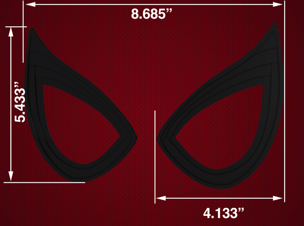 Civil War Spider-Man Static Lens Frames in Black Natural Versatile Plastic