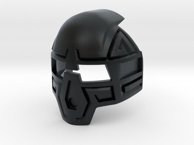 Kanohi Komau Prototype in Black Hi-Def Acrylate
