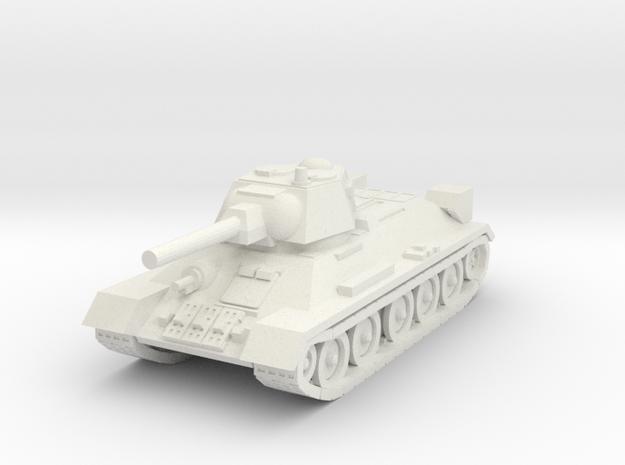 1/144 scale  T-34 tank