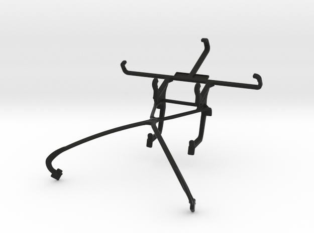 NVIDIA SHIELD 2014 controller & ZTE Maven - Front  in Black Natural Versatile Plastic