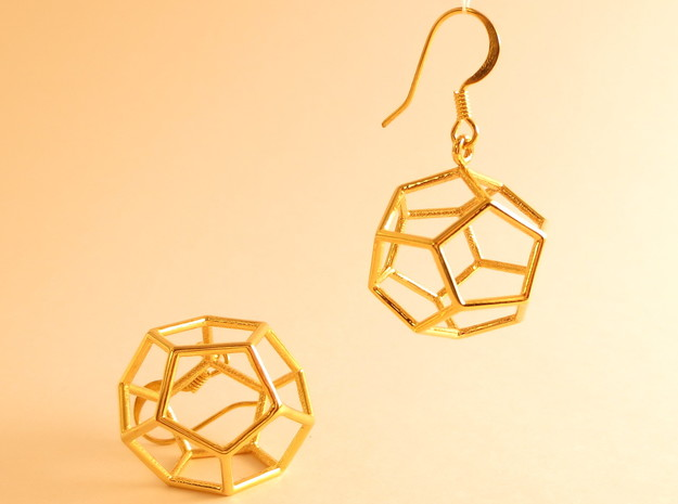 Heaven earrings in 18k Gold Plated