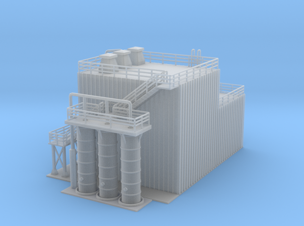 Revised Ethanol Processing Facility Z Scale in Frosted Ultra Detail