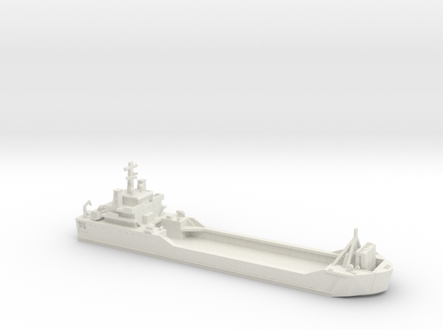 1/700 Scale Kuroda LSV in White Strong & Flexible