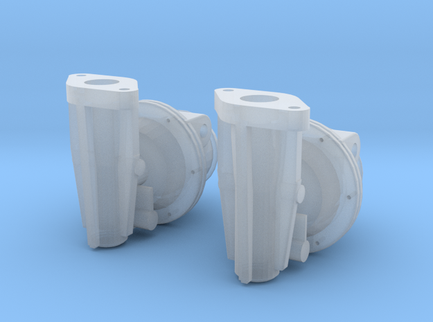 1/16 Maybach HL 120 TRM Engine Set Of Solex Fuel P in Smoothest Fine Detail Plastic
