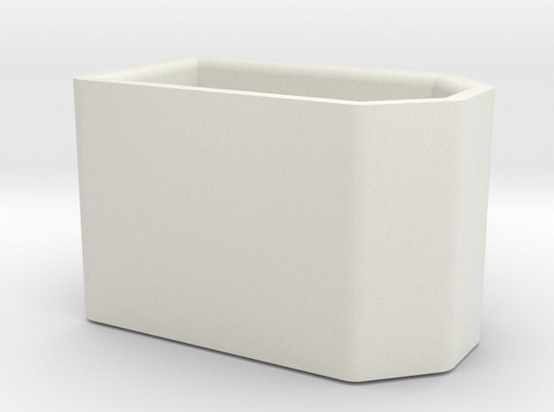 Xt60 Full Cap in White Natural Versatile Plastic