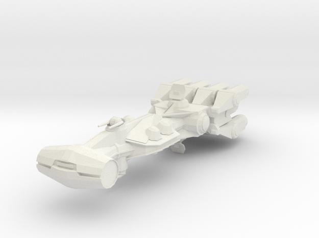 Corvette in White Natural Versatile Plastic