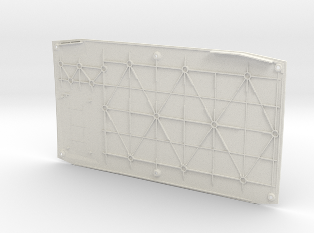 NUC Customizable 3D Printed Cover in White Strong & Flexible