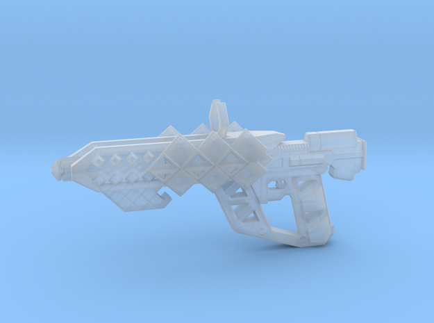 Outbreaker Rifle in Smooth Fine Detail Plastic