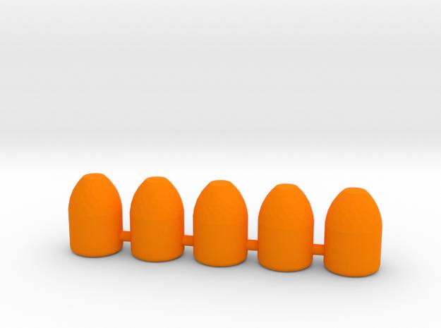 40S&W (10mm) 165 Gr Plated RNFP in Orange Processed Versatile Plastic