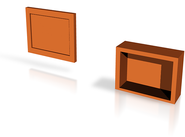 medium box and lid 3d printed