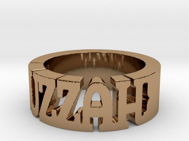BlakOpal Huzzah Ring - Size 10.75 3d printed