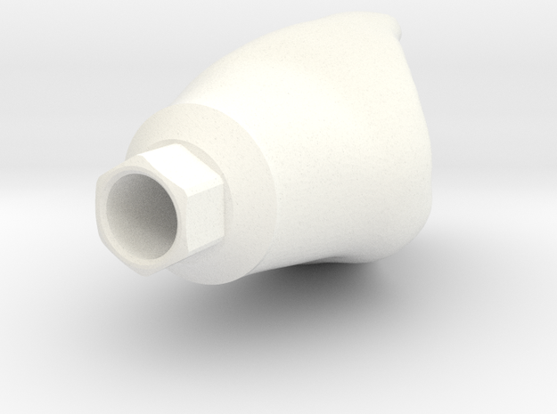 Zimmer Dinr(x6) in White Processed Versatile Plastic