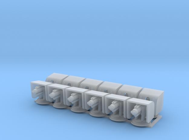 1:200 Scale RN 5.5 Gun No Barrel in Smooth Fine Detail Plastic