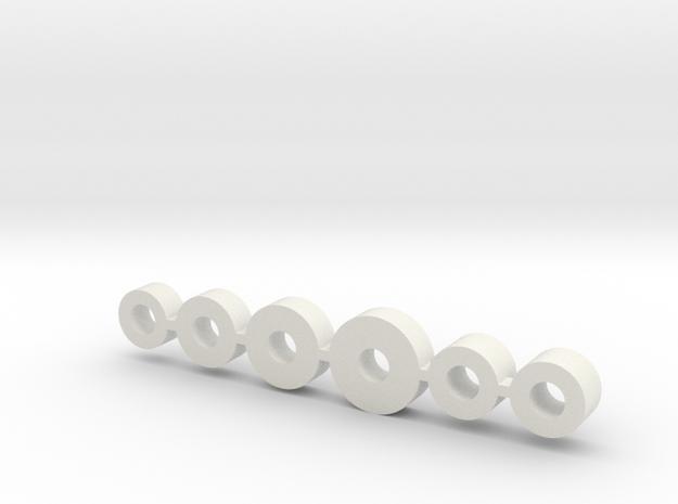 "SDS 2.0 ""Servo Drop""  in White Natural Versatile Plastic"