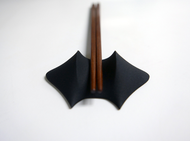 Chopsticks rest in Black Strong & Flexible