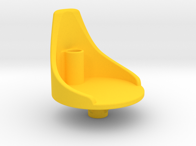 AstroChair in Yellow Processed Versatile Plastic