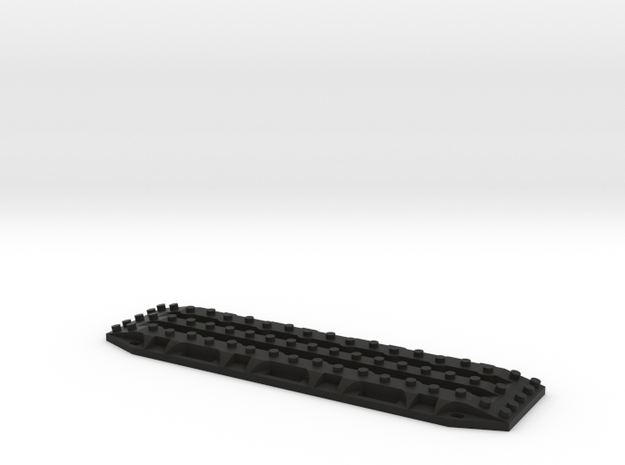 1/10 Scale Recovery Track in Black Natural Versatile Plastic