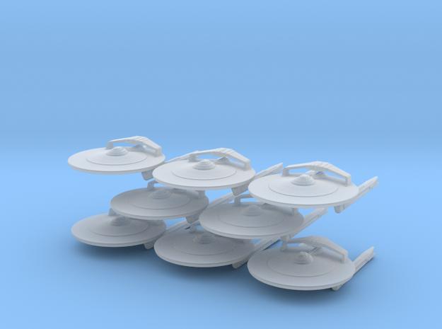 1/7000 - Cruiser Magellan v2 - 08 ships pack in Smooth Fine Detail Plastic