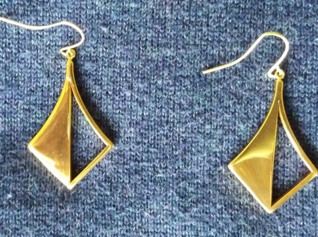 Di Earring 17 02ar in 14k Gold Plated