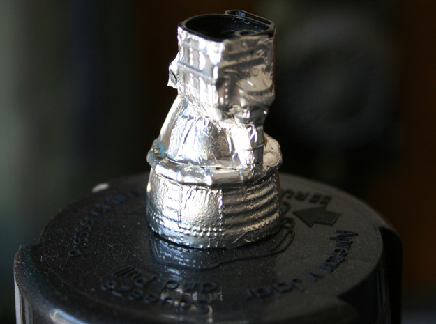 F1 Engine Batted 1:144 3d printed