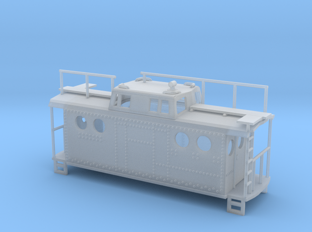 PRR Class N5c Caboose Z Scale