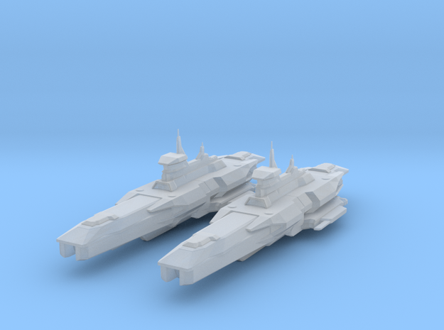 Araan Dynasty Heavy Cruiser 2 Pack in Smooth Fine Detail Plastic