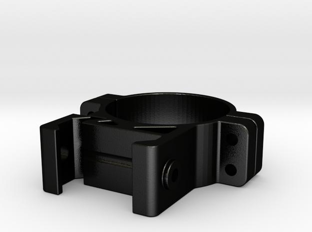 IR Flashlight Ring (30.38mm) in Matte Black Steel
